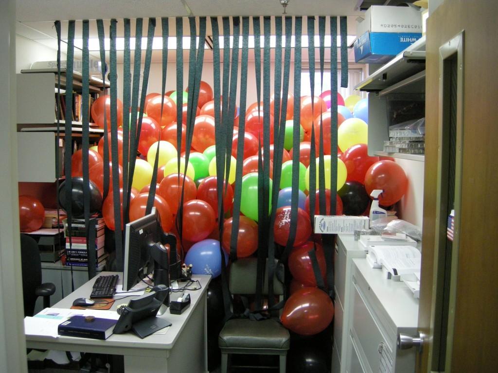 Birthday office pranks cake ideas and designs