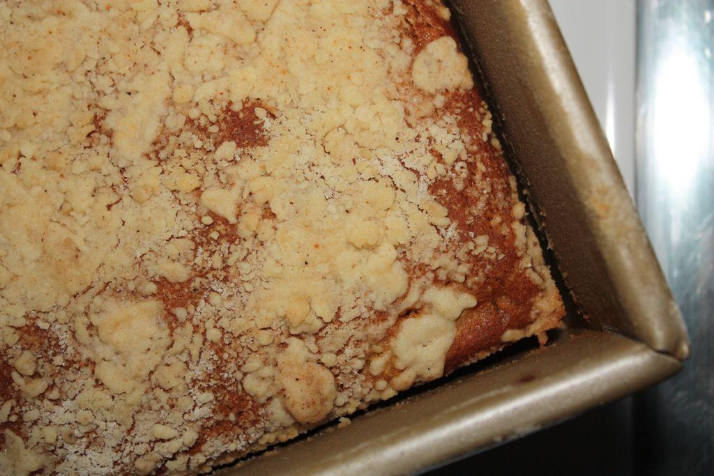 Fuyu Persimmon Coffee Cake