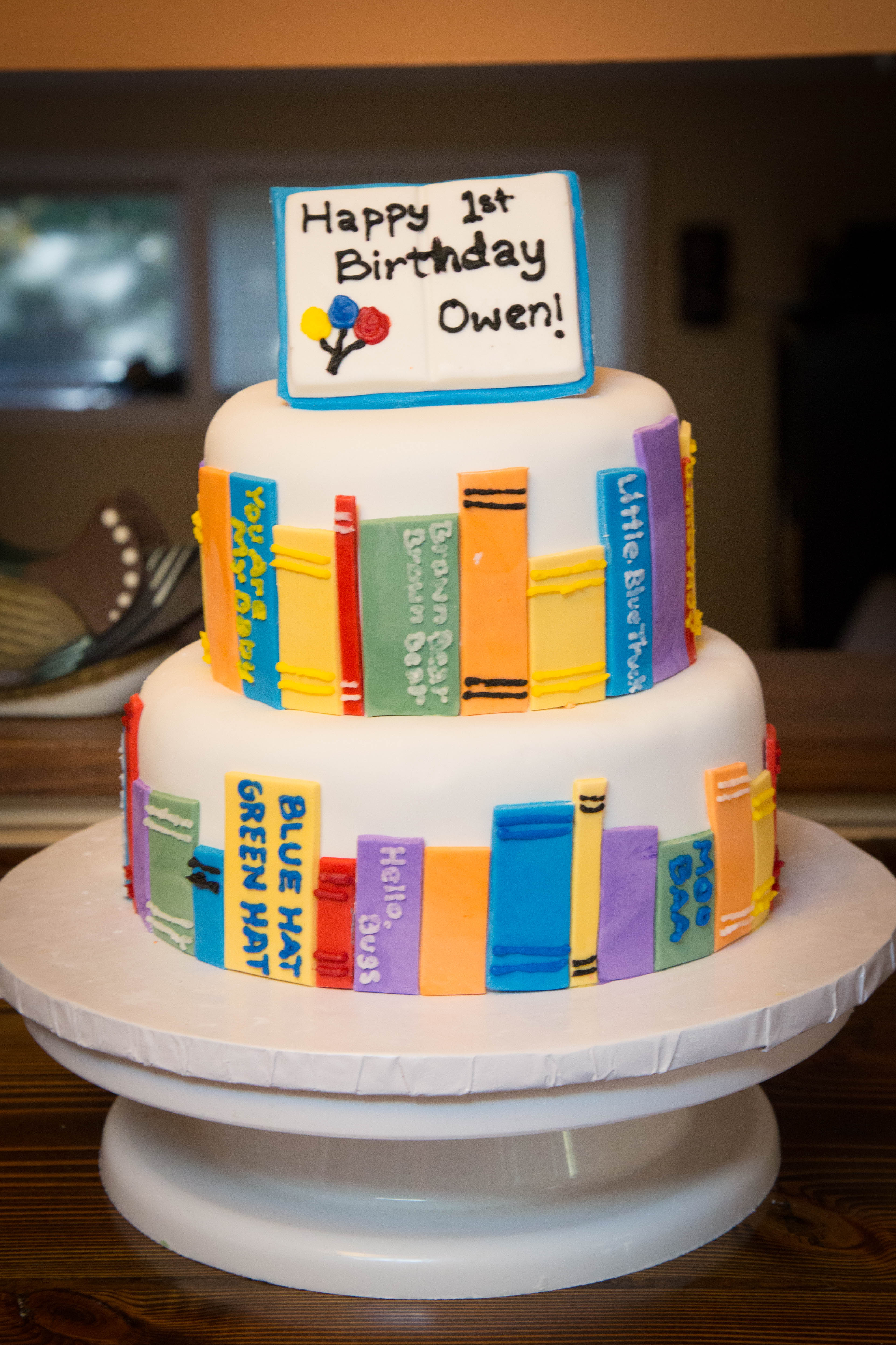 Owen S First Birthday Cake Simmiecakes